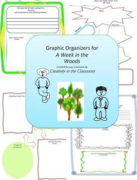 Graphic Organizers for a Week in the Woods