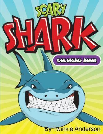 Scary Sharks Coloring Book