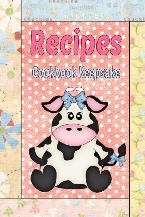 Recipes Cookbook Keepsake