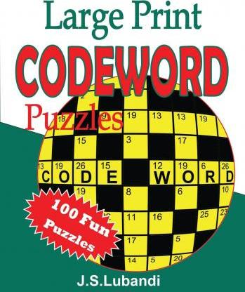 Large Print Codeword Puzzles