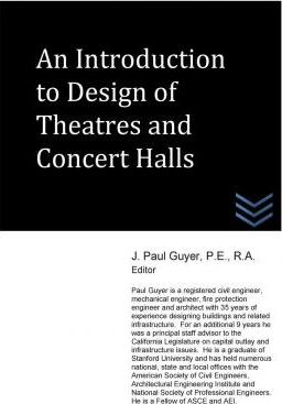 An Introduction to Design of Theatres and Concert Halls