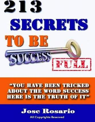213 Secrets to Be Successful