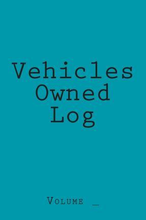 Vehicles Owned Log
