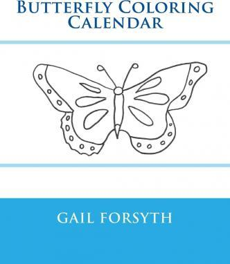 Butterfly Coloring Calendar