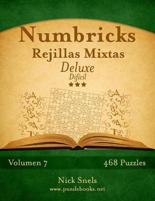 Numbricks Rejillas Mixtas Deluxe - Dificil - Volumen 7 - 468 Puzzles