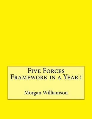 Five Forces Framework in a Year !