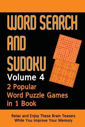 Word Search and Sudoku Volume 4