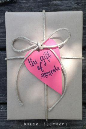 The Gift of Moments