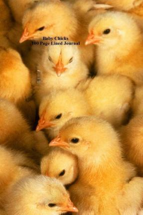 Baby Chicks 100 Page Lined Journal