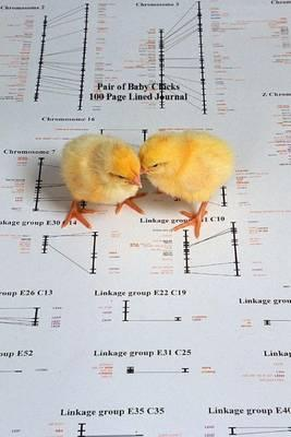 Pair of Baby Chicks 100 Page Lined Journal