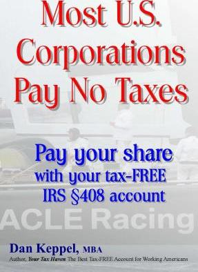 Most U.S. Corporations Pay No Taxes