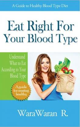 Eat Right for Your Blood Type, a Guide to Healthy Blood Type Diet