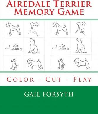 Airedale Terrier Memory Game