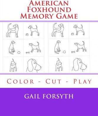 American Foxhound Memory Game
