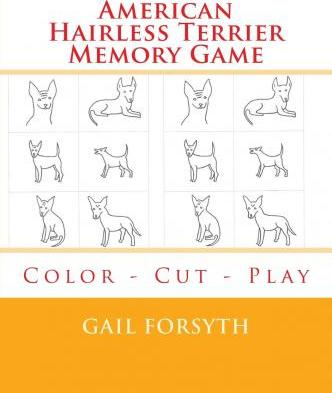 American Hairless Terrier Memory Game