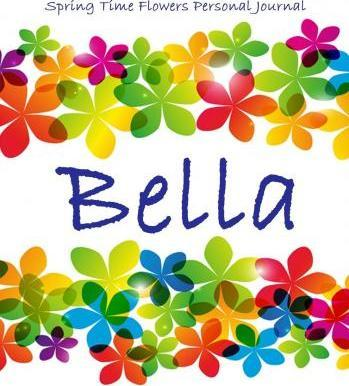 Spring Time Flowers Personal Journal - Bella