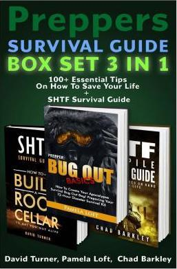 Preppers Survival Guide Box Set 3 in 1