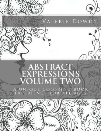 Abstract Expressions Coloring Book, Volume 2