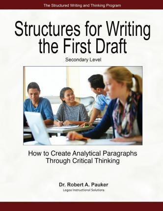 Structures for Writing the First Draft - Secondary Level