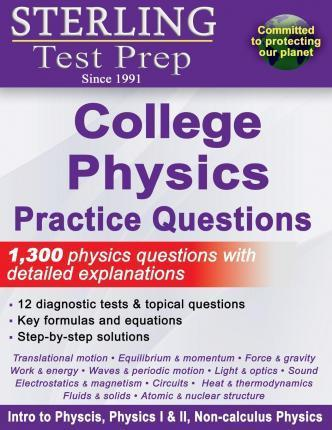 Sterling Test Prep College Physics Practice Questions