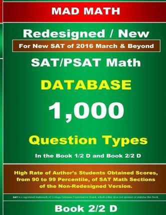 Redesigned SAT/PSAT Math Database Book 2/2