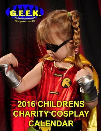 2016 Childrens Charity Cosplay Calendar