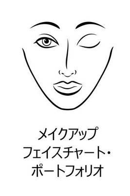 Make Up Face Chart Portfolio