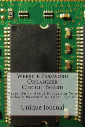 Website Password Organizer Circuit Board