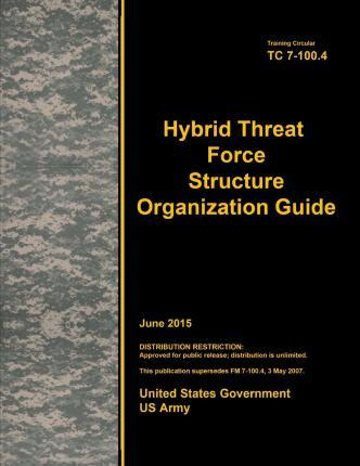 Training Circular Tc 7-100.4 Hybrid Threat Force Structure Organization Guide June 2015