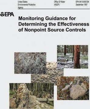 Monitoring Guidance for Determining the Effectiveness of Nonpoint Source Controls