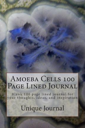 Amoeba Cells 100 Page Lined Journal