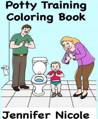 Potty Training Coloring Book