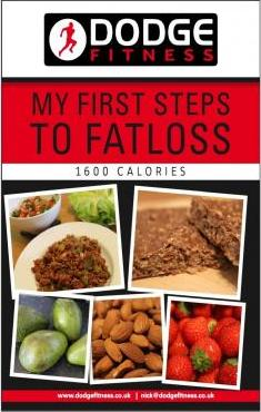 My First Steps to Fatloss-1600 Calories
