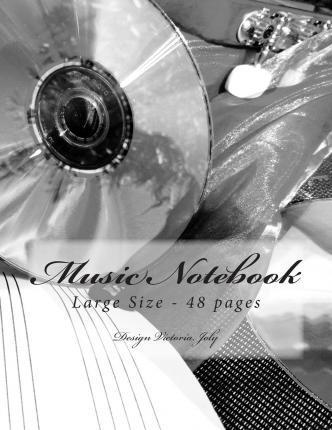 Music Notebook Large Size 48 Pages