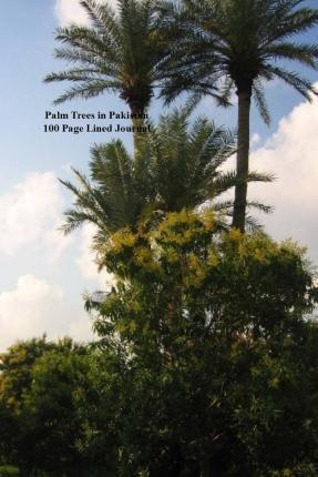 Palm Trees in Pakistan 100 Page Lined Journal