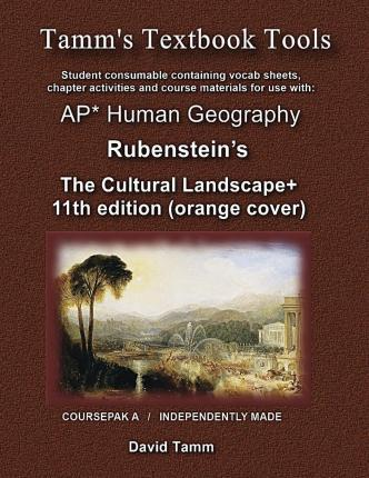 The Cultural Landscape 11th Edition+ Student Workbook