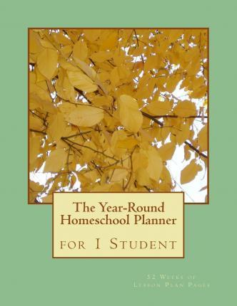 Year-Round Homeschool Planner for 1 Student