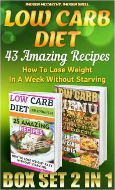 Low Carb Diet Box Set 2 in 1