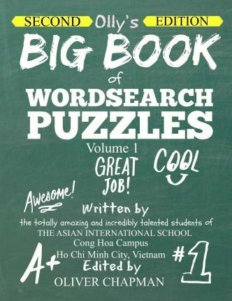Olly's Big Book of Wordsearch Puzzles - Volume 1 Second Edition