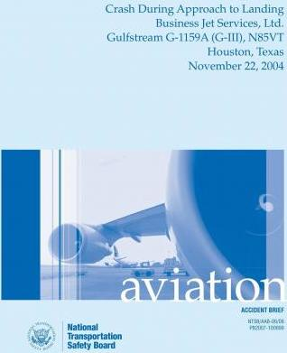 Aircraft Accident Brief