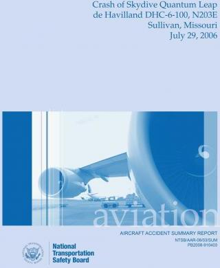 Aircraft Accident Summary Report
