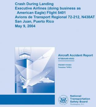 Crash During Landing Executive Airlines (Doing Business as Eagle Airlines) Flight 5401