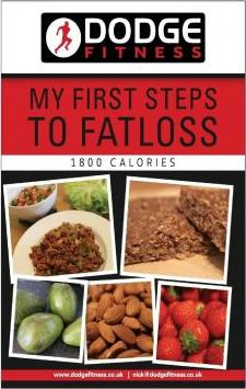 My First Steps to Fatloss 28 Day Meal Plan - 1800kcals