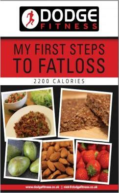 My First Steps to Fatloss 2200 Calories