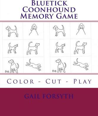 Bluetick Coonhound Memory Game