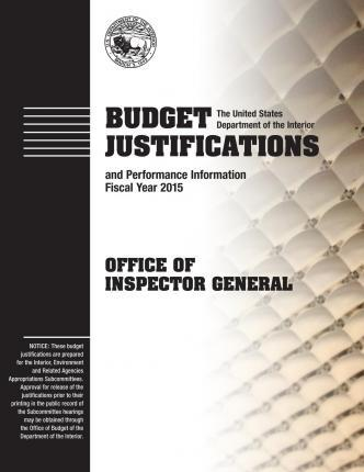 Budget Justifications and Performance Information Fiscal Year 2015