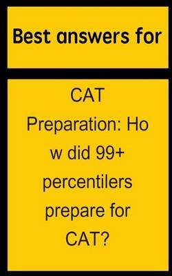 Best Answers for Cat Preparation
