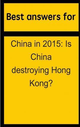 Best Answers for China in 2015