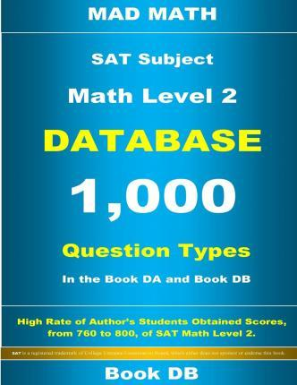 SAT Math Level 2 Database Book DB