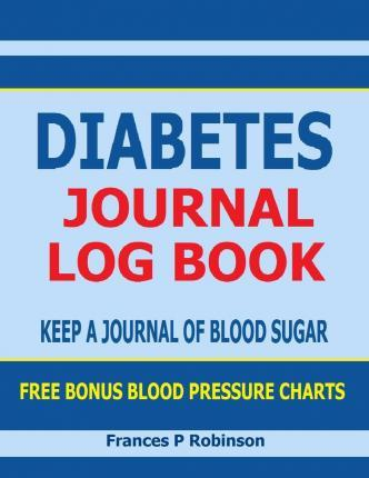 Diabetes Journal Log Book